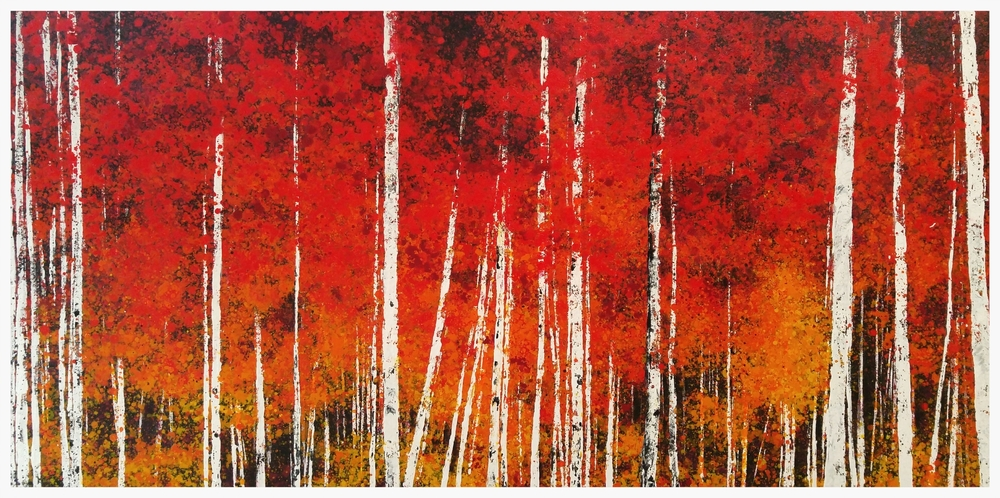 "Red Mountain, Grove   60x30"""