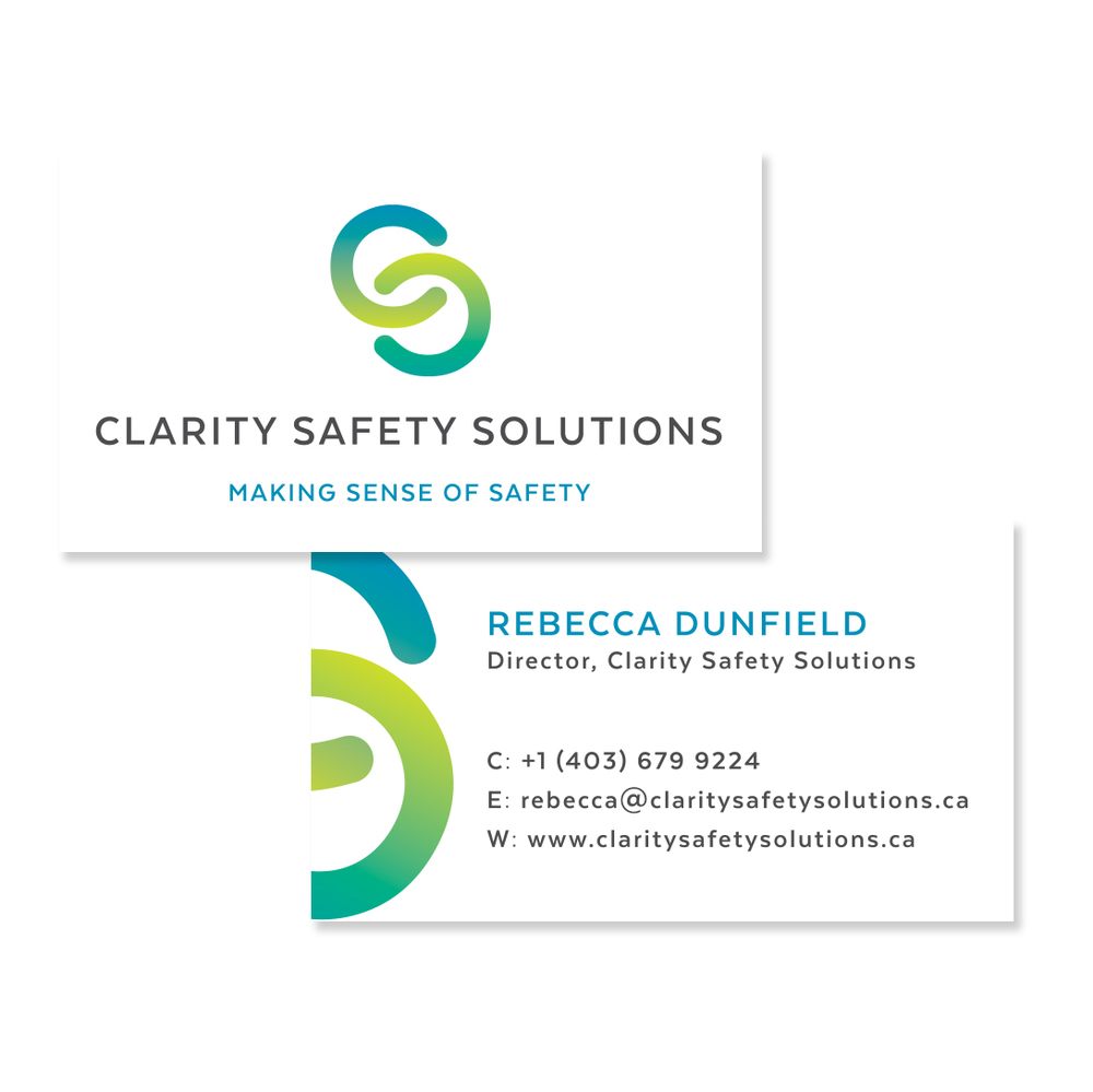 Safety Solutions Canmore Startup Graphic Design Branding Logo Website
