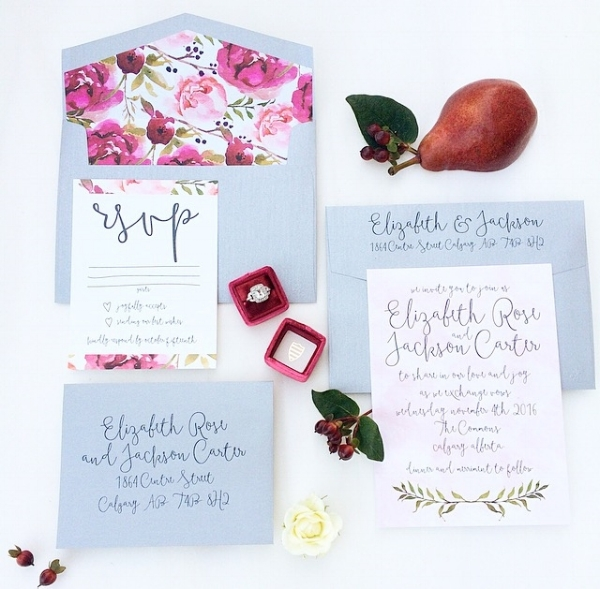 Cochrane Wedding invitations