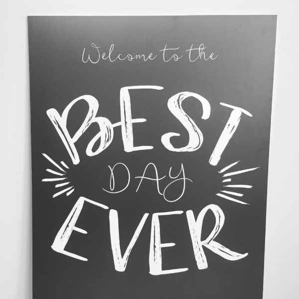 Best Day Ever Welcome Sign Calgary Invitation Designer.jpg