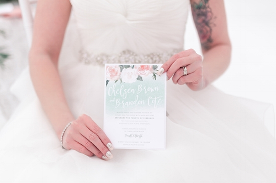 Canmore Wedding Invitation Quarry Lake