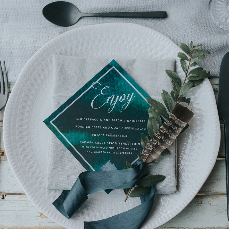 Dylan Suite - Modern Mountain Invitation