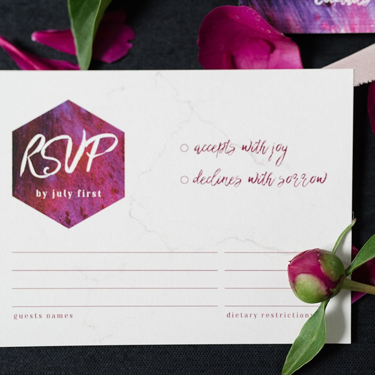 Annabelle Suite - Modern Bold Invitation