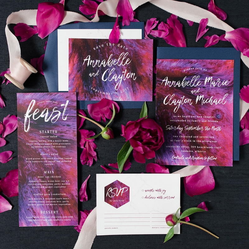 Annabelle Suite - Modern Bold Invite