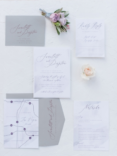 Wedding Invitation Suite - Classic, romantic and industrial