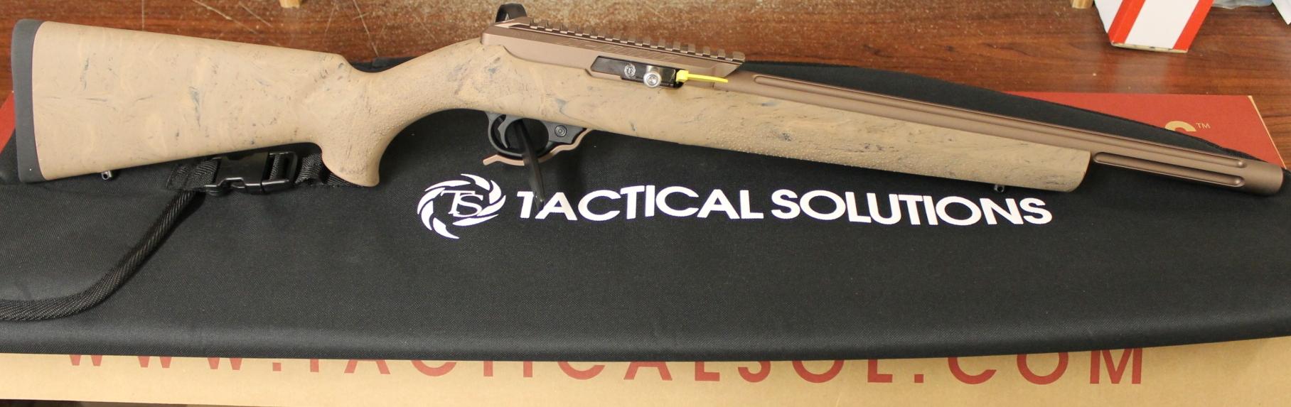 TacSol X-Ring Rifle -- Matte Brown barrel, 10/22 Trigger,