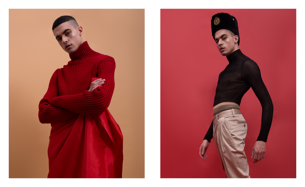 MALIK ALAIN </br><small> <i>for KALTBLUT MAGAZINE</small> </i>