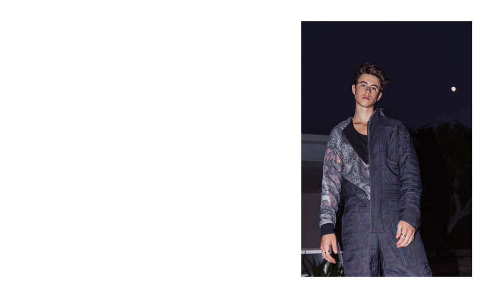 NASH GRIER </br><small> <i> for VANITY TEEN </small> </i>