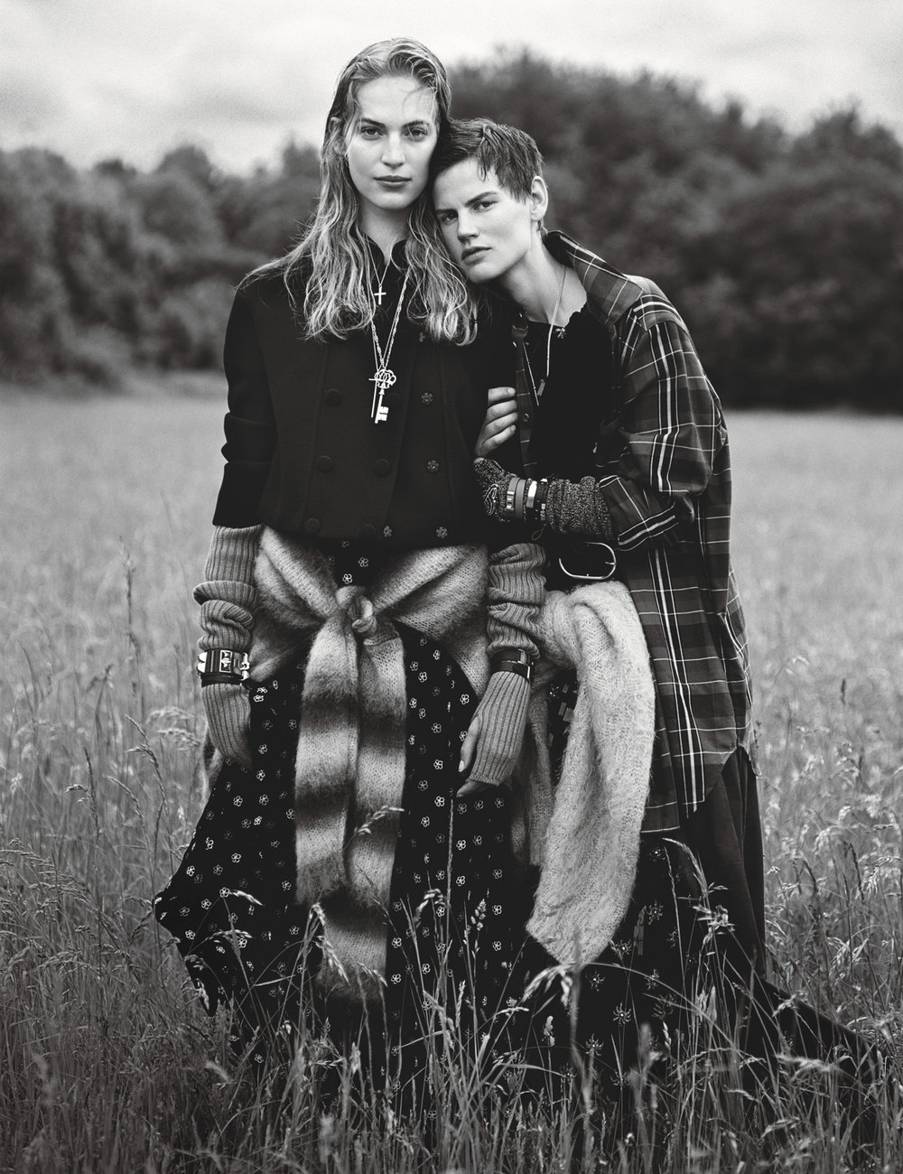 Couture </br><small> <i> W Magazine October 2017</i> </br> Photo by Alasdair McLellan</small>