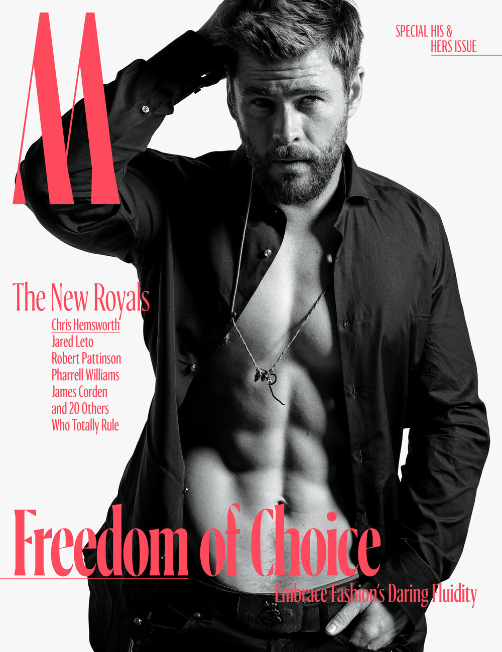 Chris Hemsworth</br><small> <i> W Magazine October 2017</i> </br> Photo by Mario Sorrenti</small>