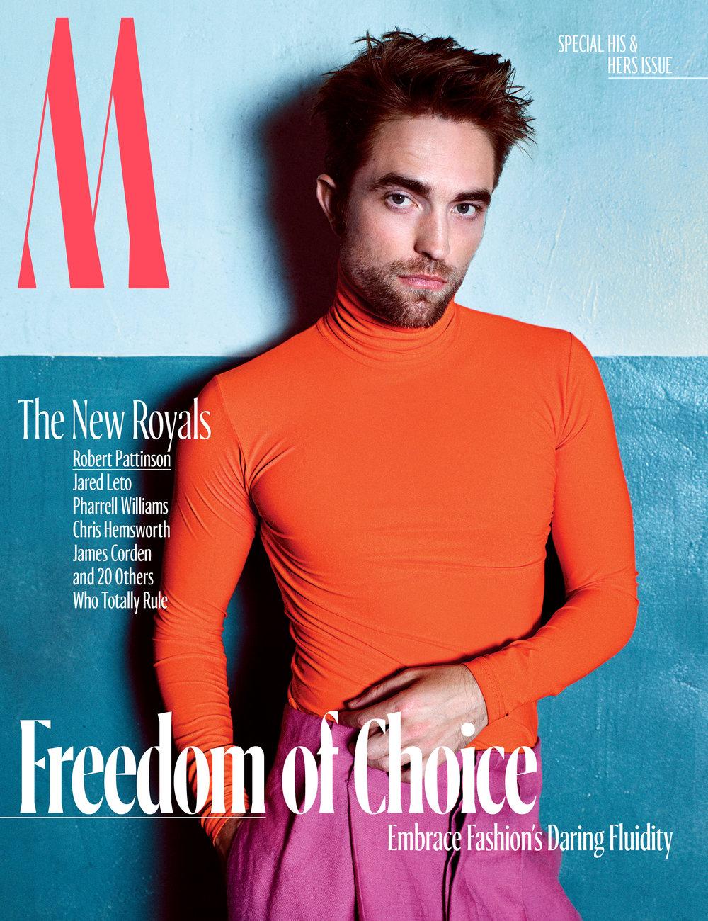 Robert Pattinson</br><small> <i> W Magazine October 2017</i> </br> Photo by Mario Sorrenti</small>