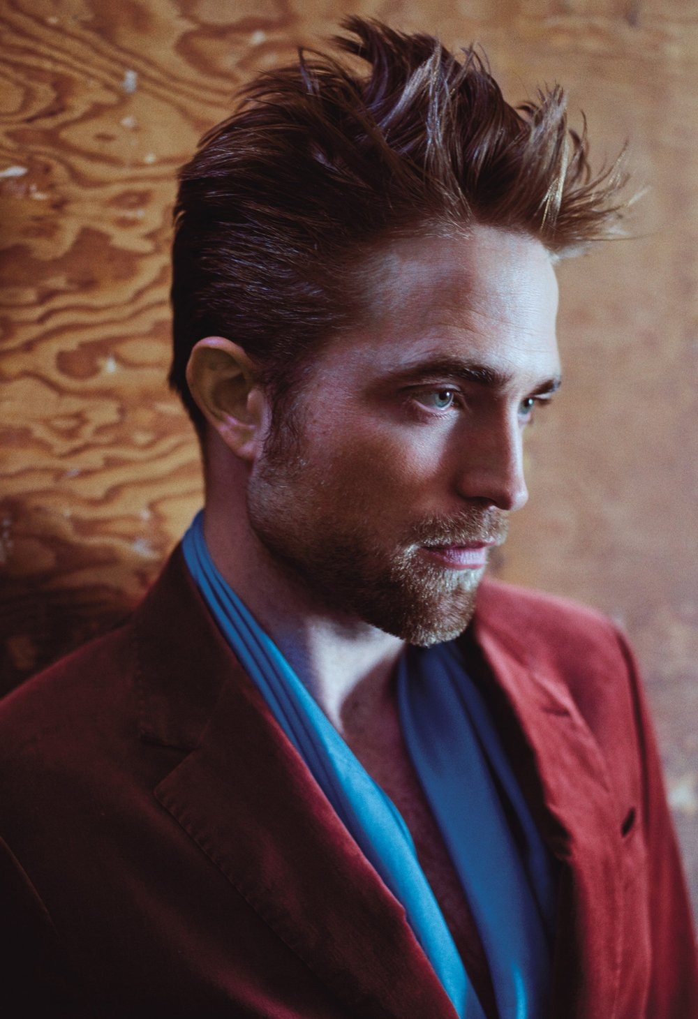 Robert Pattinson </br><small> <i> W Magazine October 2017</i> </br> Photo by Mario Sorrenti</small>