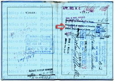 My Cuban Passport