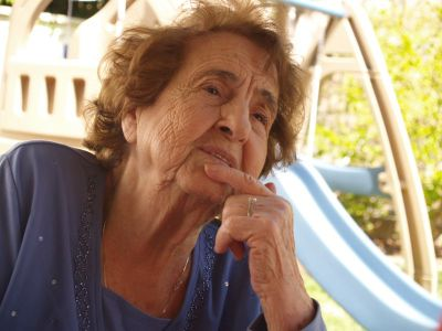 Luza, my mom.