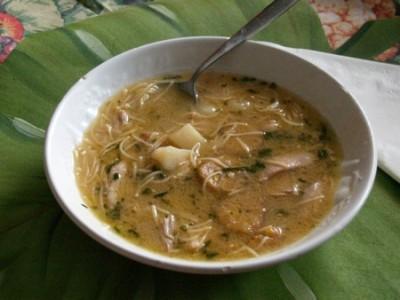 Chicken Soup Cuban-style Recipe