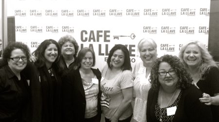 L to R: Alina Bacallao, Maylen Calienes, Betty Porto, Leonor Gaviña, Lucy Vega, Rose Trujillo, myself, Martha Barbee