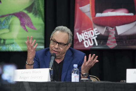 "Lewis Black, Voice of ""Anger"""