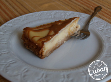 My Big Fat Cuban Family Dulce de Leche Cheesecake Recipe