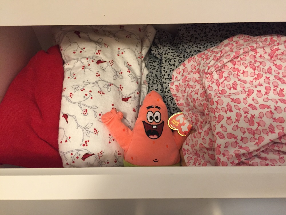 My Big Fat Cuban Family - Patrick in the pj drawer