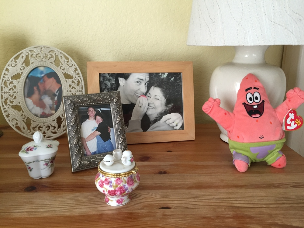 My Big Fat Cuban Family - Patrick on my night stand