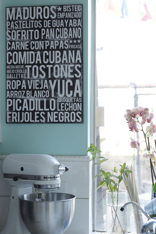 Cuban Food Poster - Marta Darby Designs - shop on Etsy