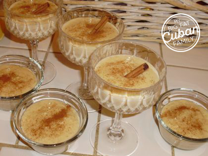 My Big Fat Cuban Family Arroz con Leche Recipe