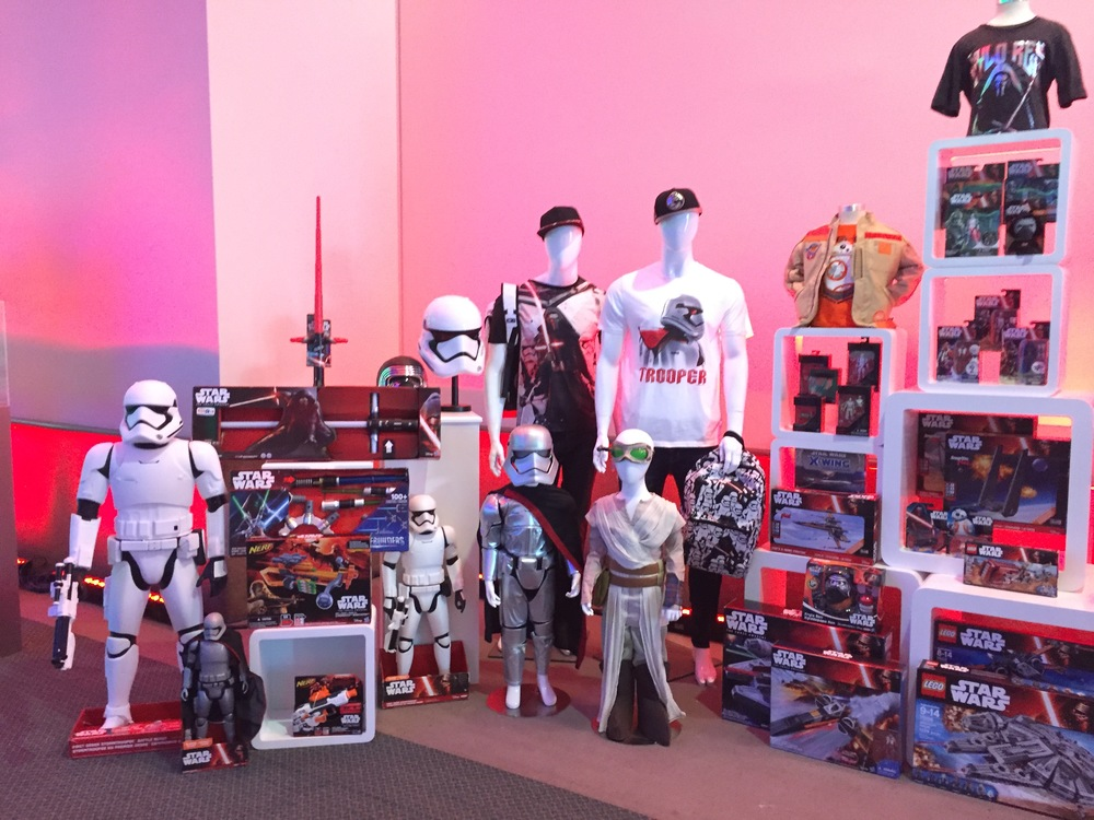 Star Wars toys and merchandise