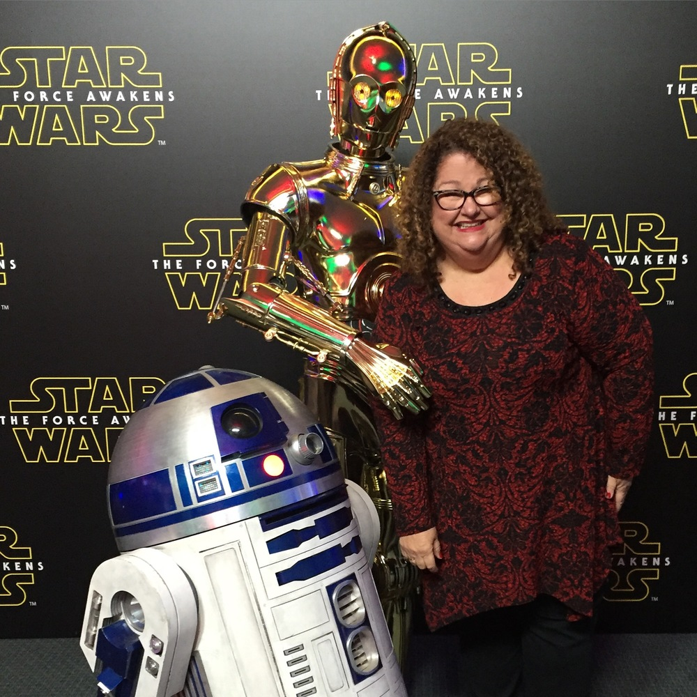 R2D2 and C3PO - Marta Darby