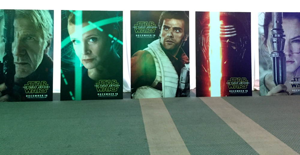 Star Wars Junket posters