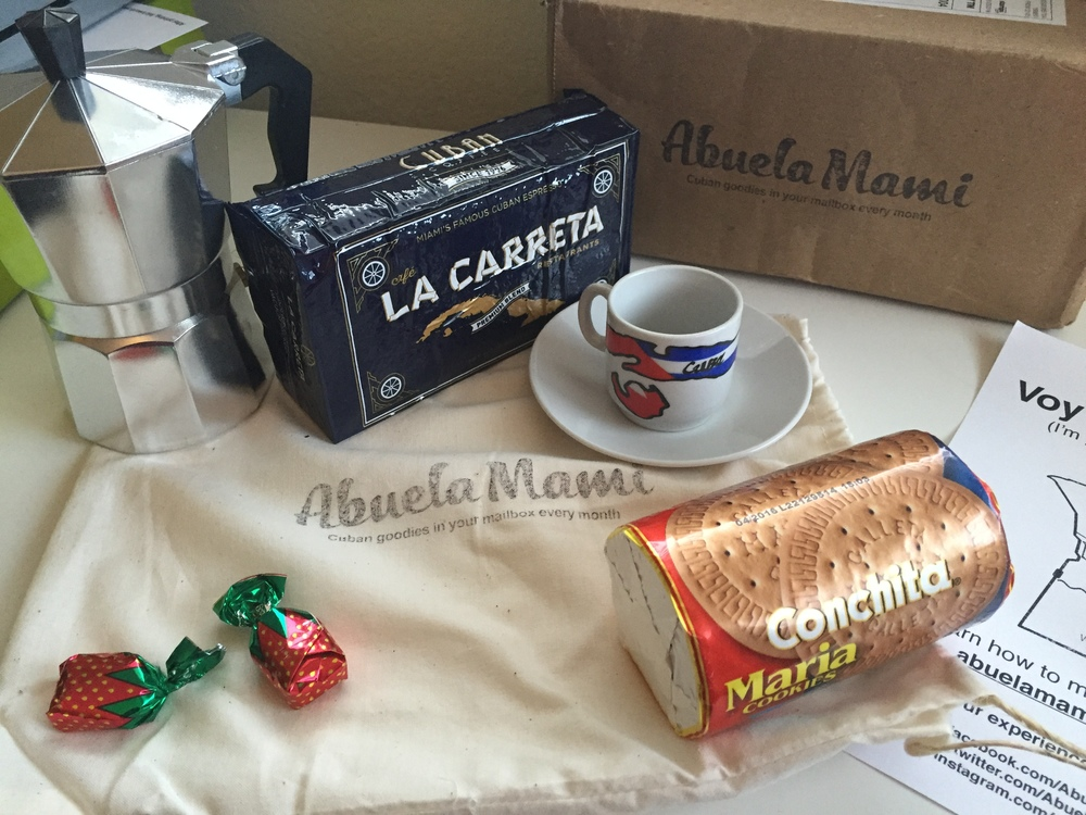 My Big Fat Cuban Family - Abuela Mami - Cuban goodies in your mailbox