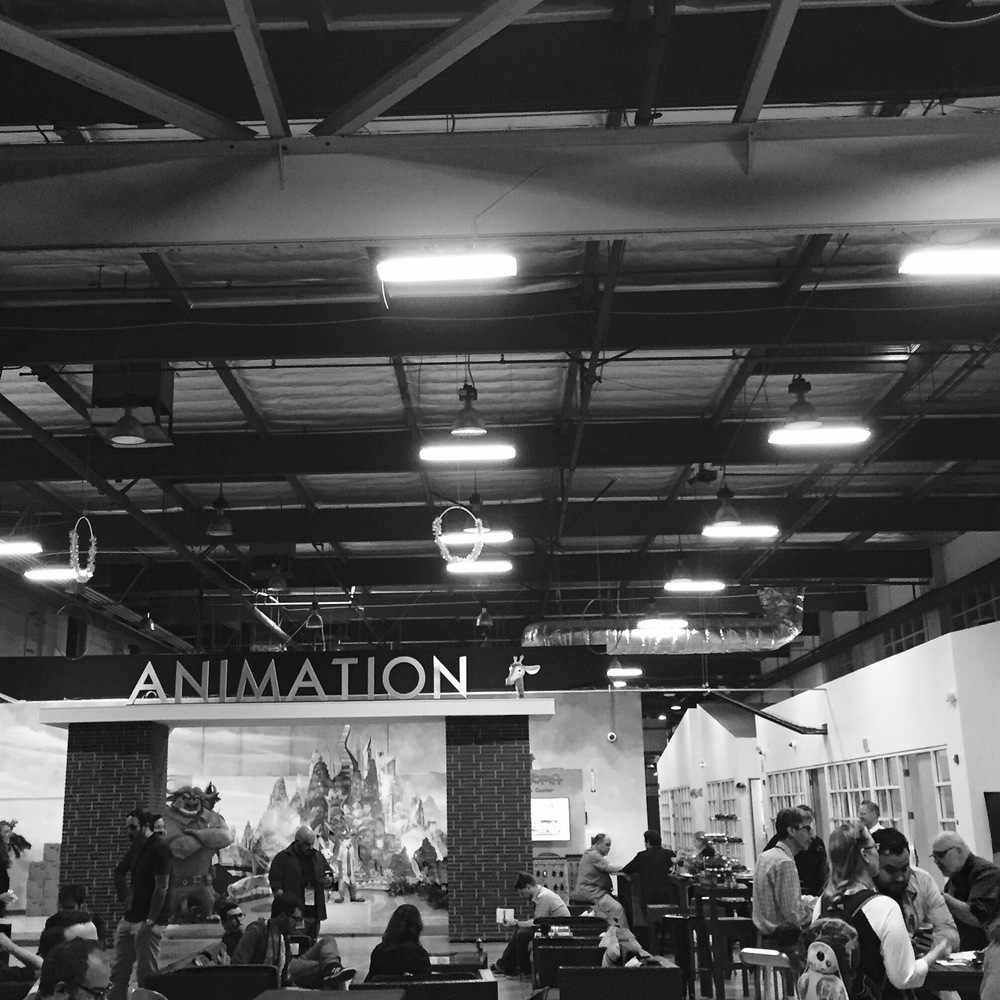 Inside the Disney Animation Studios. Photo: M.Darby