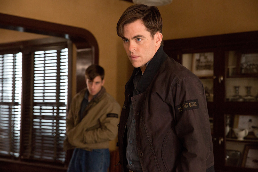 Chris Pine as Bernie Webber in 'The Finest Hours,' photo courtesy of Disney.