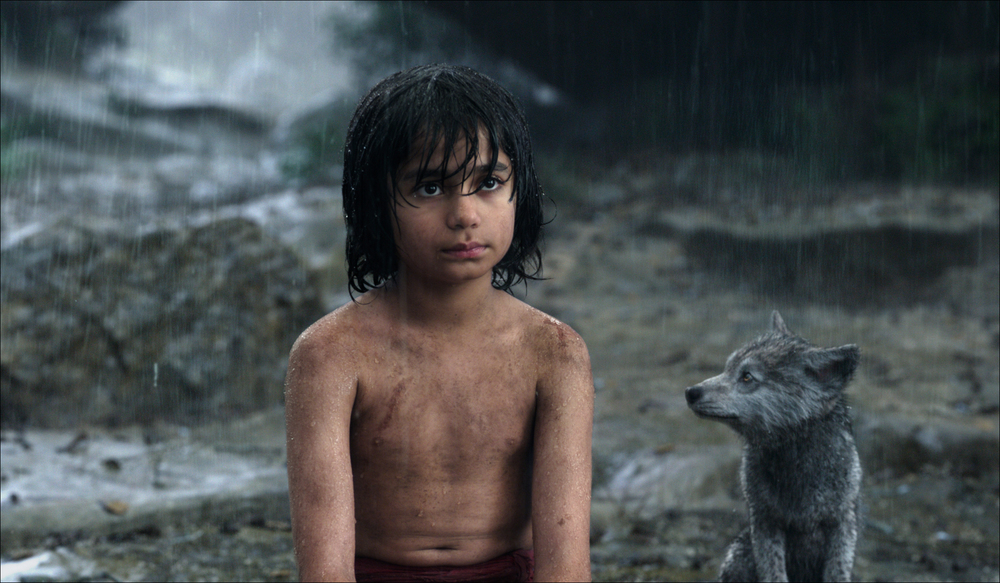 Neel Seth as Mowgli the Man Cub in Disney's The Jungle Book