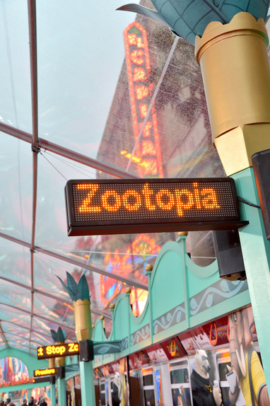Disney's El Capitan Theatre at the Zootopia Premiere. Photo courtesy of Disney.