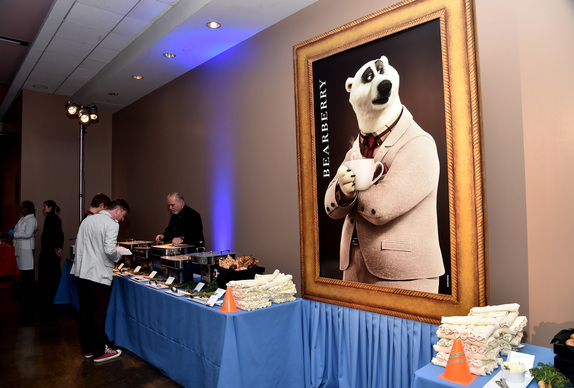Buffet at the After-party. Zootopia Premiere. Photo courtesy of Disney.