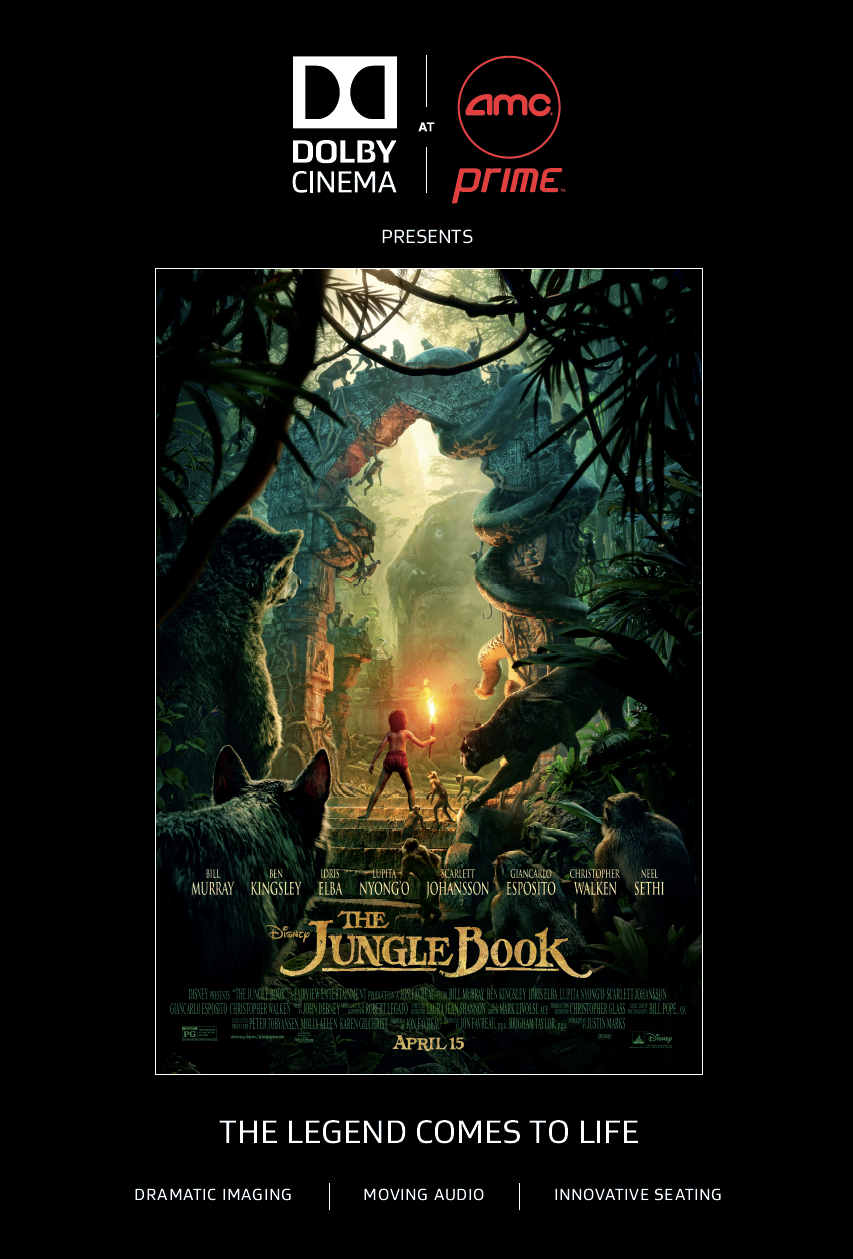 My Big Fat Cuban Family - Disney's The Jungle Book Dolby Cinema at AMC Prime