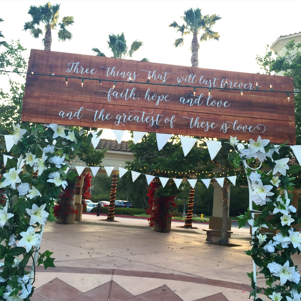 My Big Fat Cuban Family - wedding sign