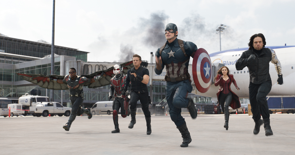 My Big Fat Cuban Family - Captain America Civil War
