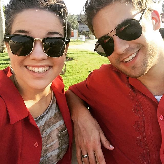 """Siblings in red."" #mykids #twinning"