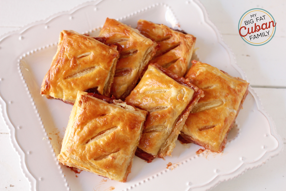 My Big Fat Cuban Family Homemade Guava Pastry Recipe
