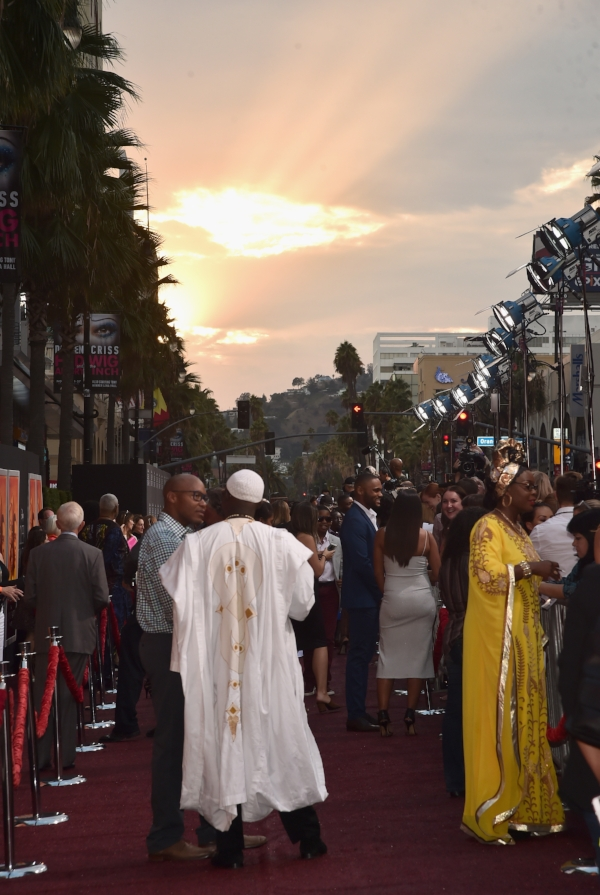 The Red Carpet for Queen of Katwe (photo: Alberto E. Rodriguez - 2016 Getty Images)