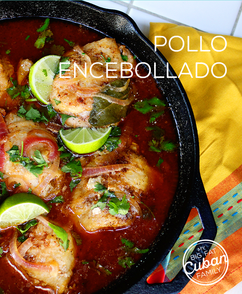 My Big Fat Cuban Family - Pollo Encebollado Recipe