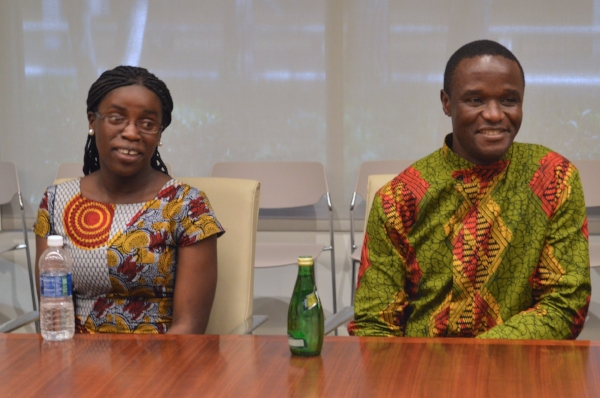 Phiona Mutesi and Robert Katende. Photo: Carol Jones / All Mommy Wants