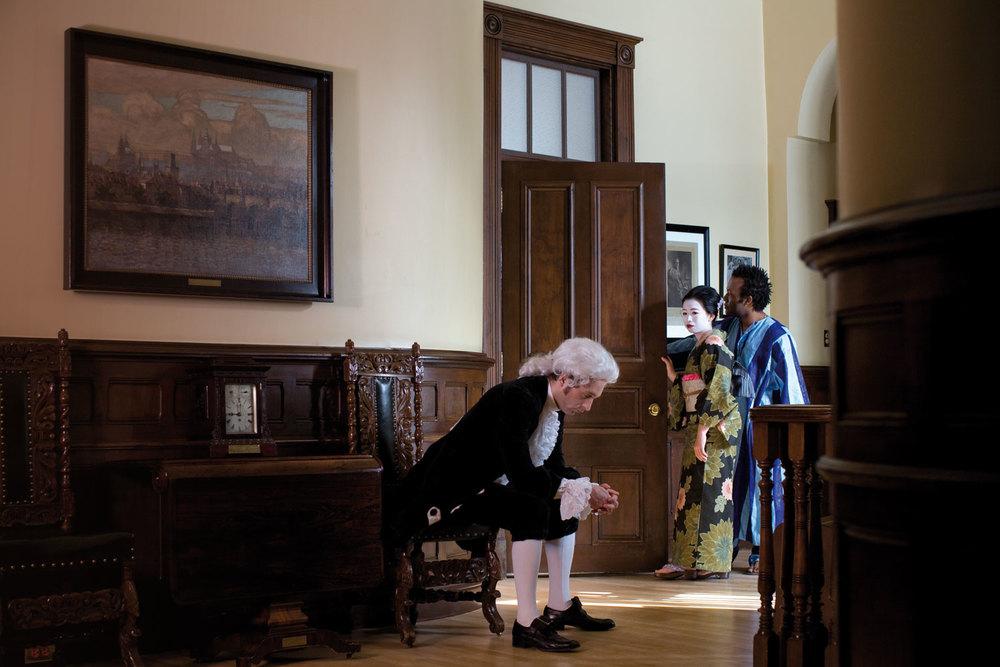Une visite s'impose dans le hall