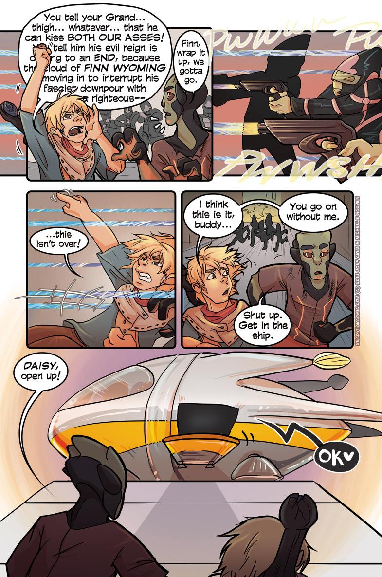 Reckstar Comic