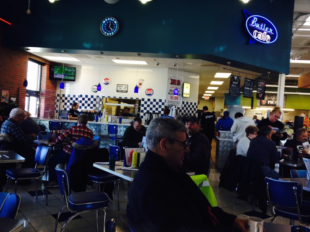 Butler Cafe inside Brickstreet Market!