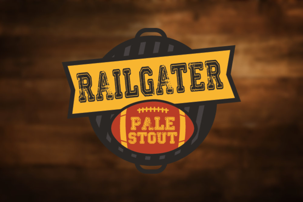 Railgator Pale Stout - This delightfully deceptive beer is brewed with coffee beans and cocoa nibs giving flavor impressions of a stout in a pale beer. Healthy addition of rolled oats are added to give the mouthfeel of an oatmeal stout. Dark chocolate richness in a pale beer for the entrance into fall - railgating season.6.0% ABV - 28 IBUs