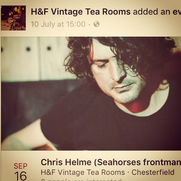 Chris Helme ( Seahorses frontman) will be joining us for an evening of #acoustic live music with support. It will also give you a chance to sample our new venture @fireddough with  beautiful #wood-fired #pizzas and amazing #cocktails 🍸 We also have a #DJ  to keep you going until late ... #chesterfield #sheffield #nottingham #derby tickets available via our website 🎶🎟 #rt @derbyshiretimes @derbyuni @visitderbyshire @sheffhallamuni