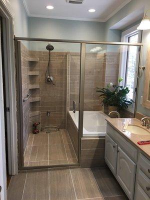 TriCity Custom GlassTrCity Custom Glass - Bathroom remodel johnson city tn