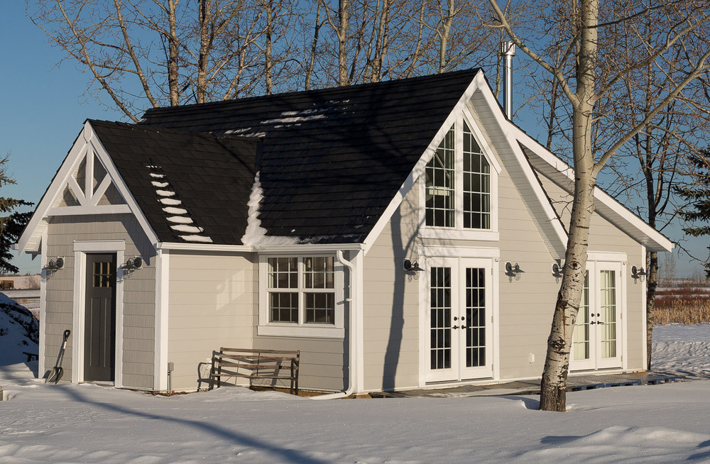 After: Exterior of the Cottage